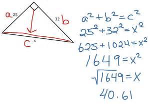 Pics photos pythagorean theorem samples
