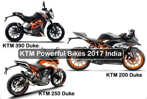Ktm Upcoming Bikes Find Features Of These 3 Powerful Ktm Bikes In India Of 2017