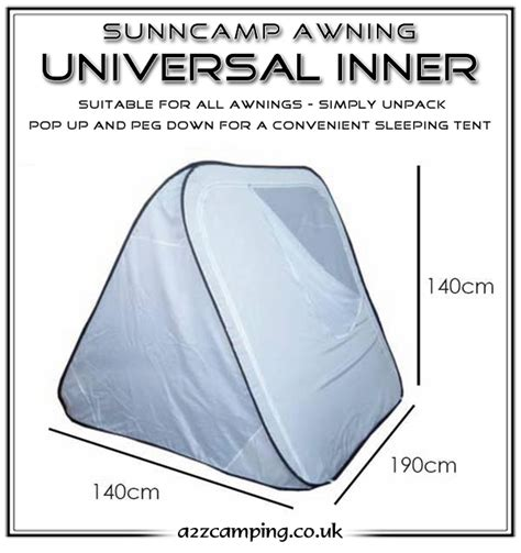 inner tent for awning sunnc universal pop up awning inner tent
