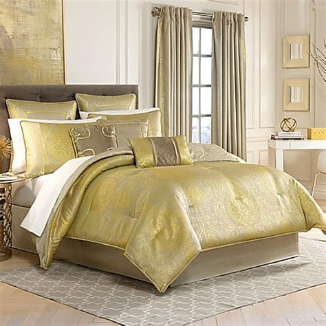 gold imperial comforter set buy croscill 174 emperor reversible california king comforter