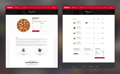 free bootstrap templates for online food order cafehouse food online ordering ecommerce psd template 66994