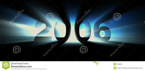 new year in 2006 year 2006 blue stock illustration illustration of count