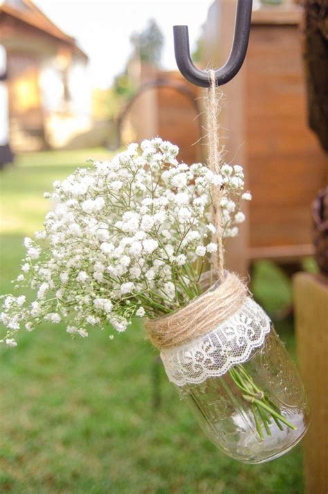 Wedding Aisle Jars by Hanging Jar Vases Set Of 6 Wedding Aisle Decor