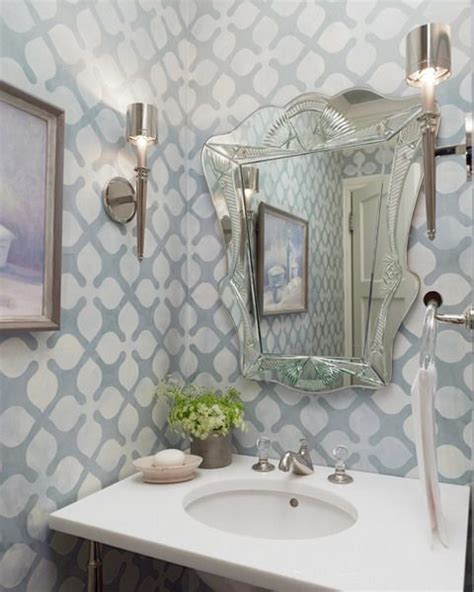 funky bathroom wallpaper ideas cheer the for your lovely child blog