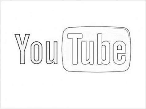 coloring pages online youtube youtube logo coloring pages sketch coloring page