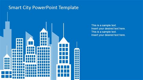 powerpoint template for smart city powerpoint template slidemodel