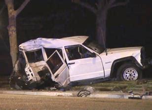 crashed white jeep fatal traffic crash in lancaster