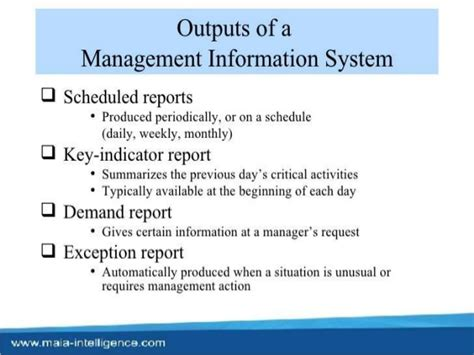 Mba Information Systems Reddit by Types O F Information Systems