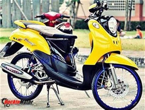 Shock Showa Satria Fu foto gambar modifikasi motor thailook style terbaru 2017