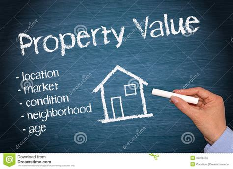 value of house property value stock photo image of chalk cost house 40378474