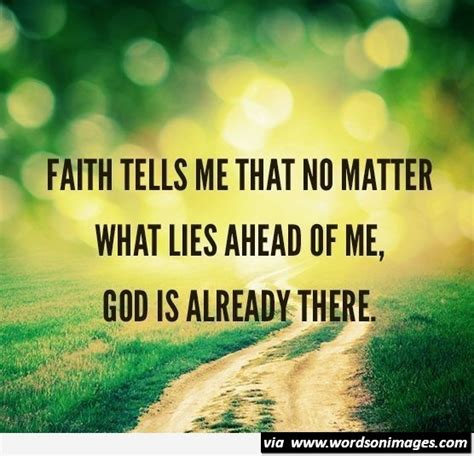 Quotes About Faith In God Quotesgram Faith And