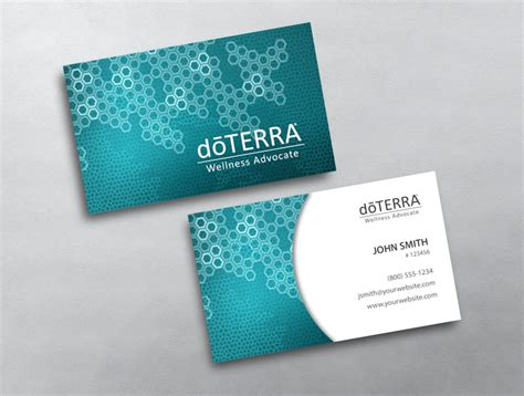 doterra business card template doterra business card 44