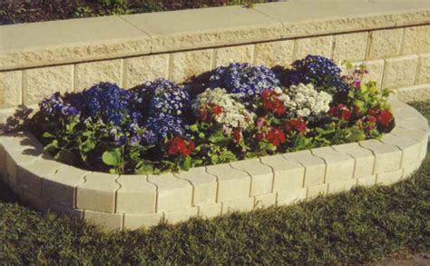 lokrock ivory garden edging blocks