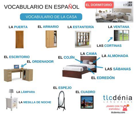 muebles la casa vocabulario de la casa y muebles en espa 241 ol