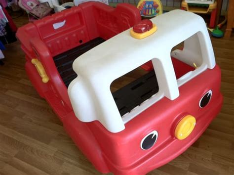 little tikes fire truck bed step 2 fire truck toddler bed yelp