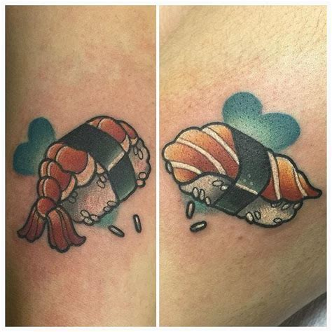 sushi tattoo 1000 images about food tattoos ideas on pizza
