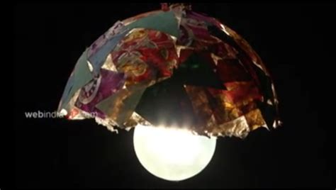 Craft Paper L Shades - paper mache light shade how to make paper mache light