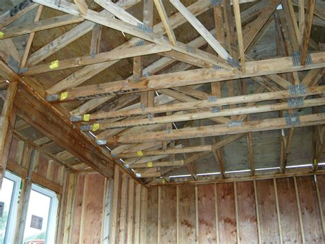 Garage Joists The Building Of The House Building A Home In