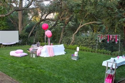 how to plan a backyard party under the stars tween teen outdoor birthday party planning