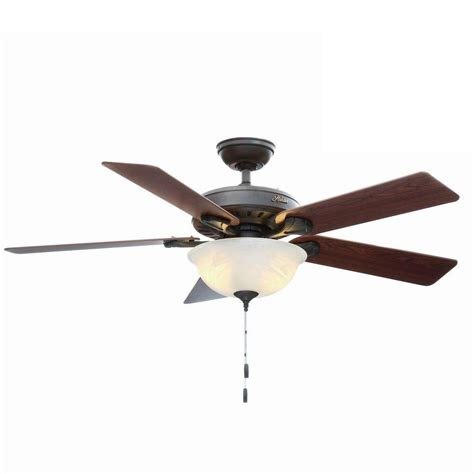 hunter 5 minute fan replacement parts hunter pro s best five minute 52 in indoor new bronze