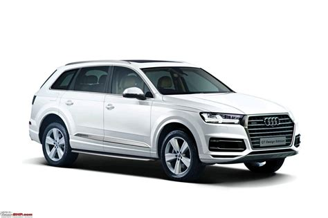 audi q7 cost in india audi q7 and a6 design editions launched in india team bhp