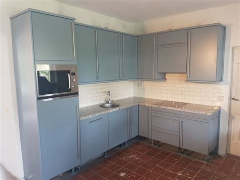 overspuiten keuken keuken overspuiten keuken renovatie van hattem maatwerk