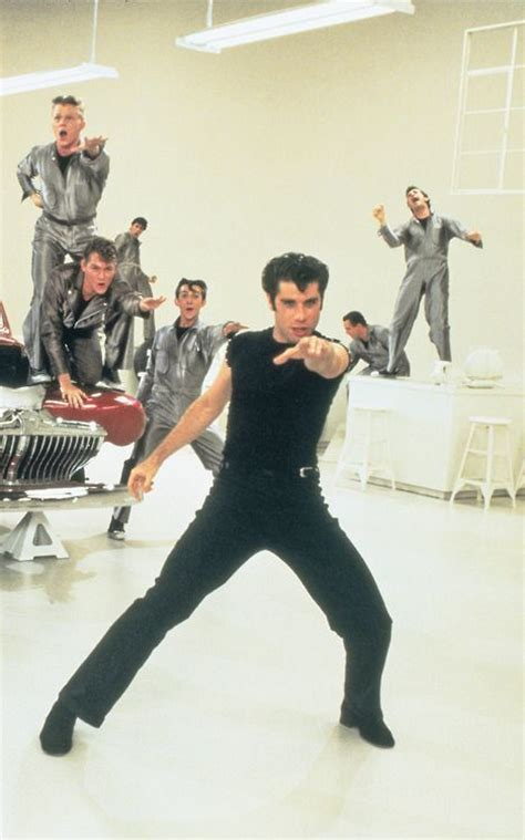 Grease Lighting Song by Travolta In Grease Everybody Now