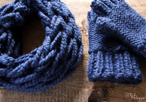 knitting pattern chunky yarn mittens chunky fingerless mittens pattern simplymaggie com