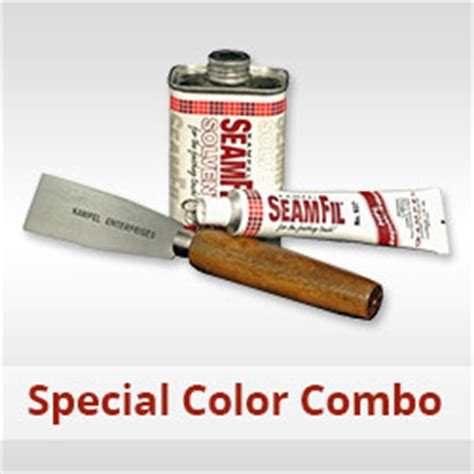 seamfil combo box special colored laminate repair paste