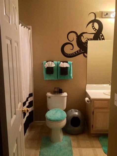 octopus bathroom accessories best 25 teal shower curtains ideas on pinterest teal