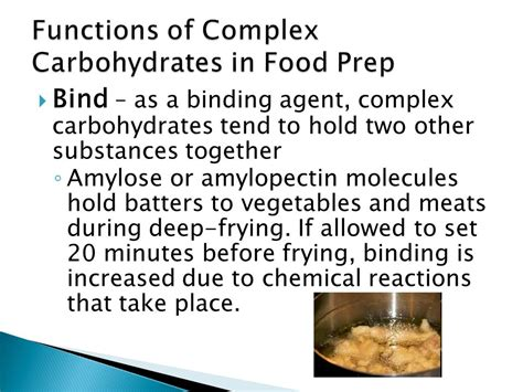 7 functions of carbohydrates chapter 9 the complex carbohydrates ppt