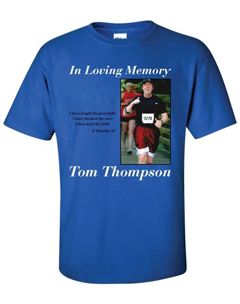 Dtg Digital Printing Design Sles In Loving Memory T Shirt Template