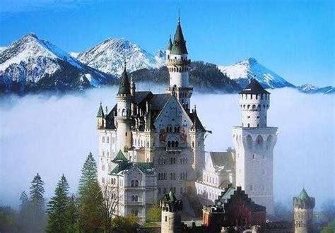 most beautiful english castles 2014世界十大最美城堡排行榜出炉 德国新天鹅城堡居首 新天鹅城堡 山城堡 凤凰旅游