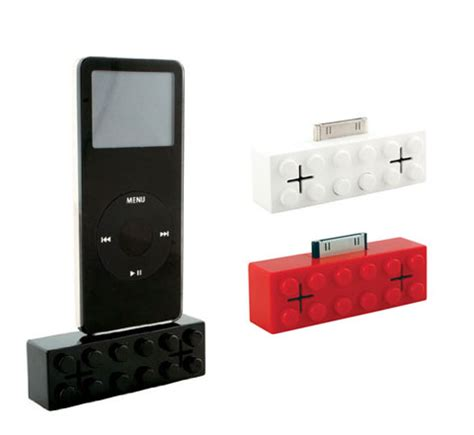 Fh007 Mini Speaker System Looks Cool Sounds Great by Lego Mini Mp3 Stereo Dock Constructed Sound Audio