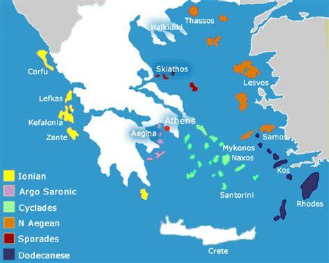 greek islands map holiday travel maps  greek islands