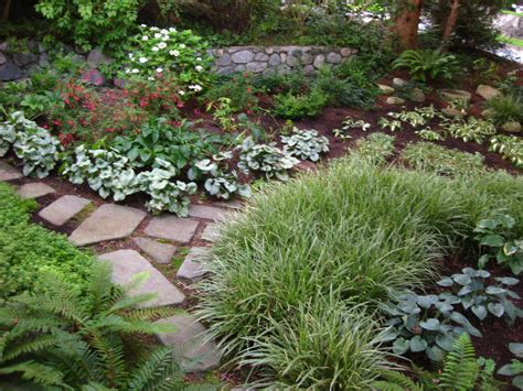 small shade garden ideas shady landscape ideas corner garden ideas gardening chronicles replace a shady lawn garden