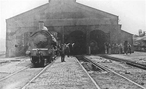 Gwr Engine Sheds by Bordesley Shed Photograph Showing The Birmingham End Of