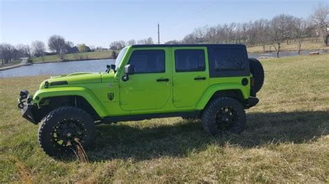 Jeep Mercenary 2013 Jeep Wrangler Unlimited With Mercenary Package