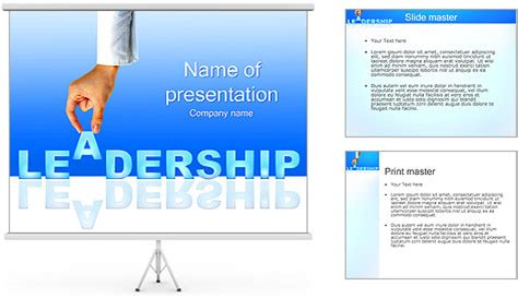 powerpoint templates for leadership qualities leadership powerpoint template backgrounds id 0000002113