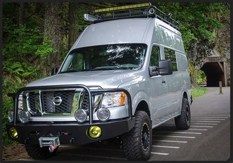 kodiak by outside nissan nv 4x4 conversion cargo