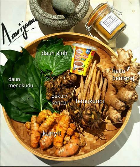langkah membuat jamu kunyit asam wanita cina ini kongsi resipi jamu asam kunyit herba