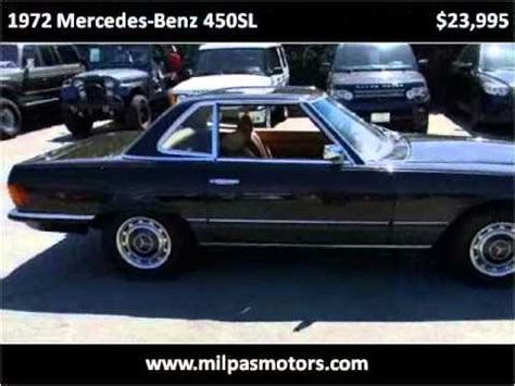 Santa Barbara Mercedes Used Cars by 1972 Mercedes 450sl Used Cars Santa Barbara Ca