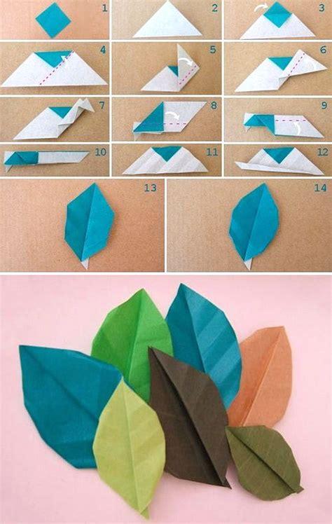 membuat hiasan dinding kamar  kertas origami dekor rumah