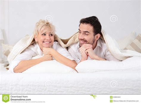 man and woman having sexuality in bed man and woman in bed stock photo image 63802404