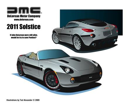 report delorean motor company could revive pontiac s solstice