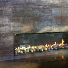 Fireplace Pebbles by 1000 Images About Gas Fireplaces On Mantels