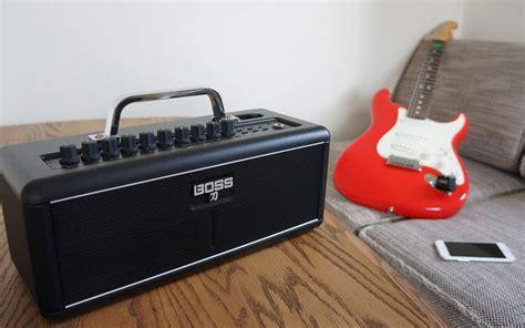 boss smart wireless guitar amp  designed  work