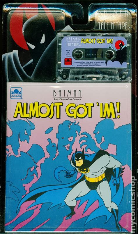 Batman The Golden batman the animated series almost got im golden books