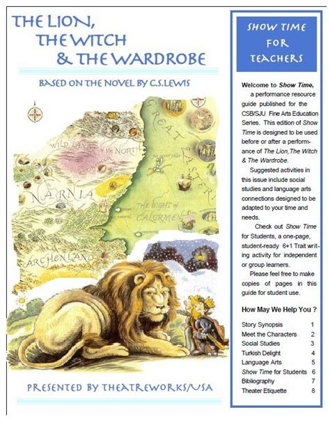 The The Witch And The Wardrobe Ks2 Resources by 19 Best Images About Narnia Unit Study On