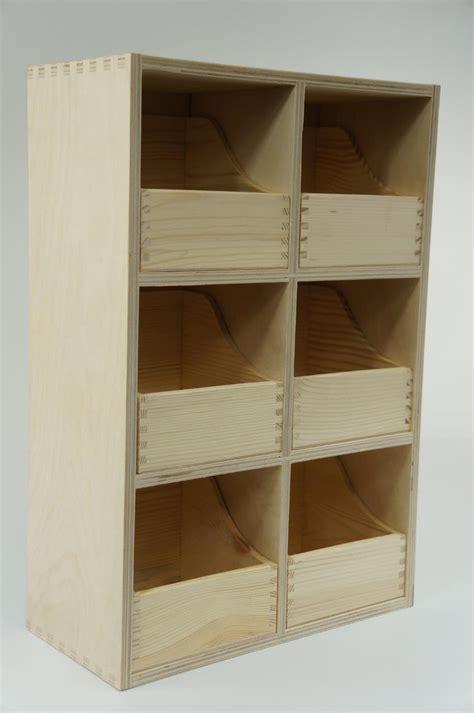 Craft Storage Drawers Wood by Plain Wooden Storage Box Chest Drawers Craft Decoupage